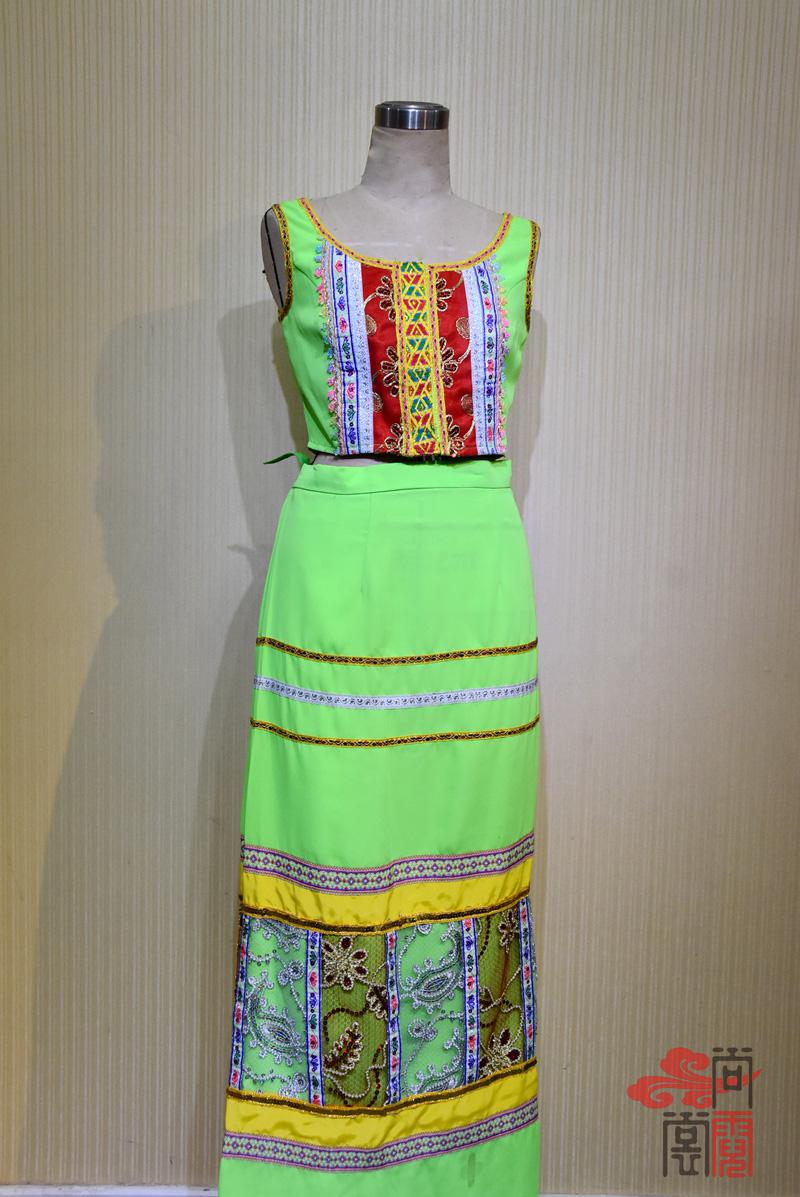 傣族舞蹈服装0