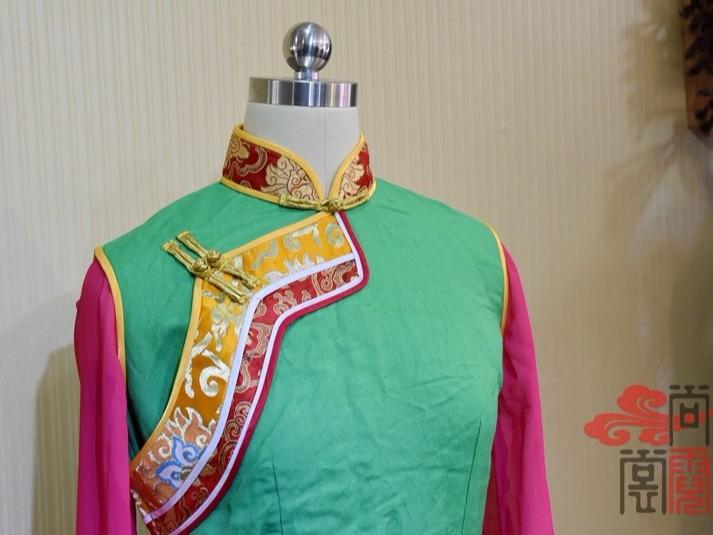 少数民族服饰藏族弦子舞蹈服装