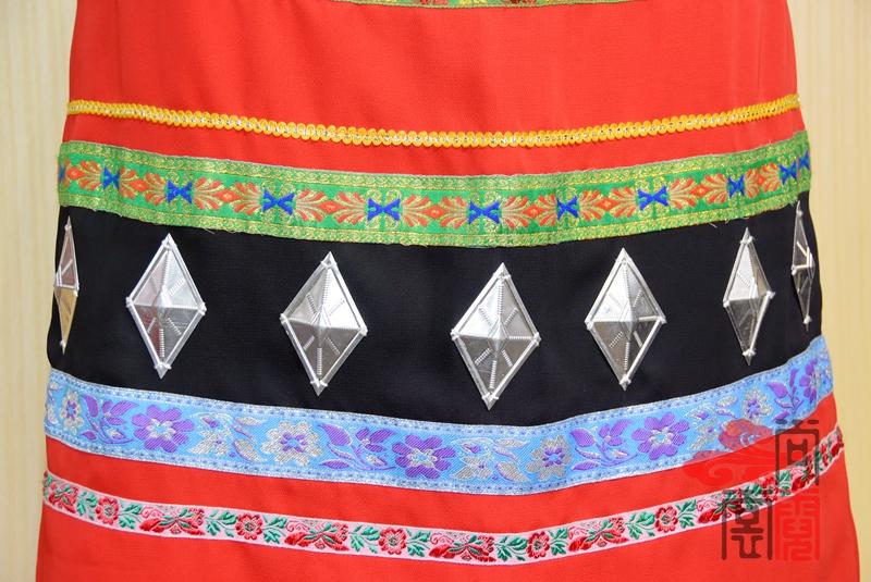 佤族舞蹈服装07