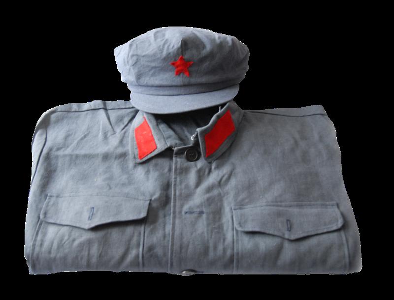 第二版红军军服