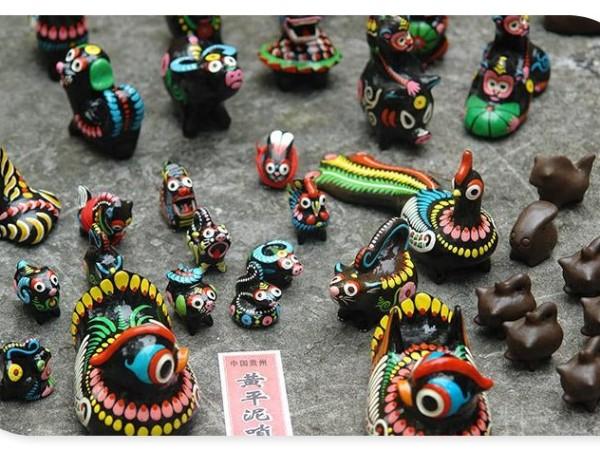 云南民族民间艺术 - 山野玩具工艺品
