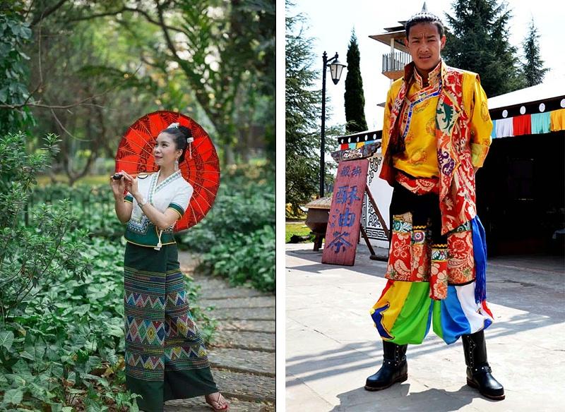 傣族和藏族