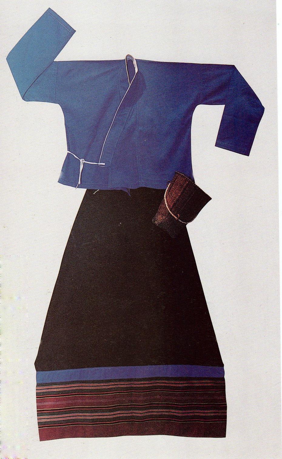 勐海布朗族服饰