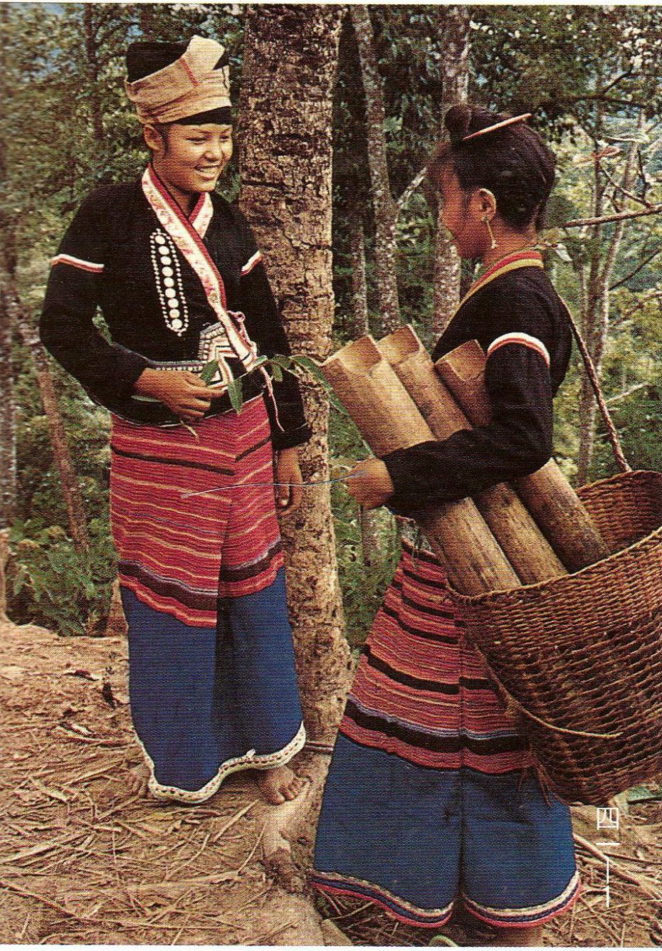 云南西双版纳布朗族