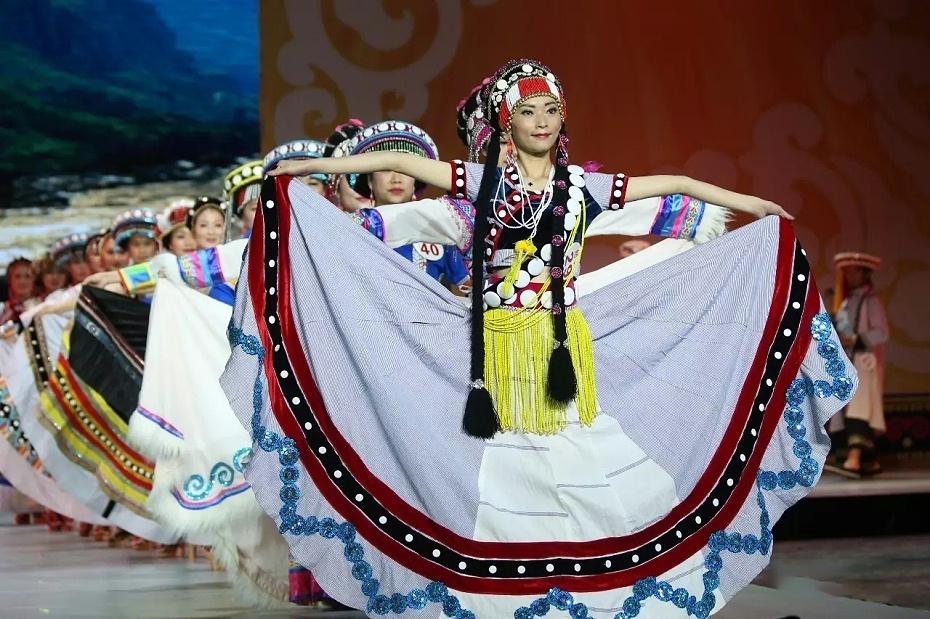 傈僳族女装