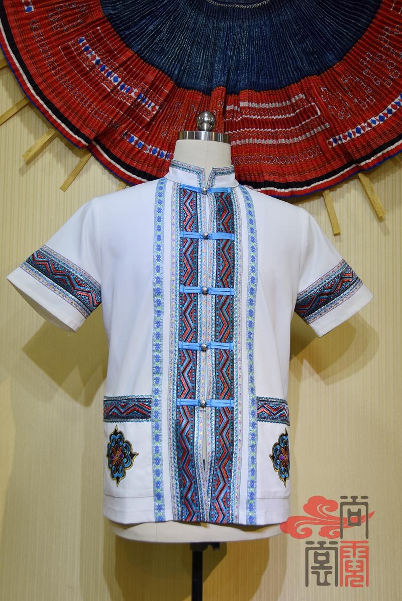 少数民族服饰短袖衬衫