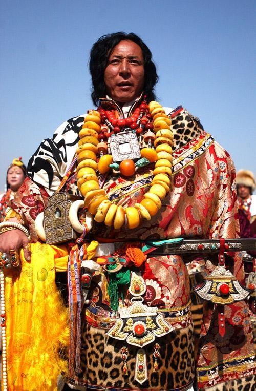 少数民族服装藏族服装