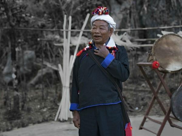 云南少数民族服饰--德昂族服饰特点图片