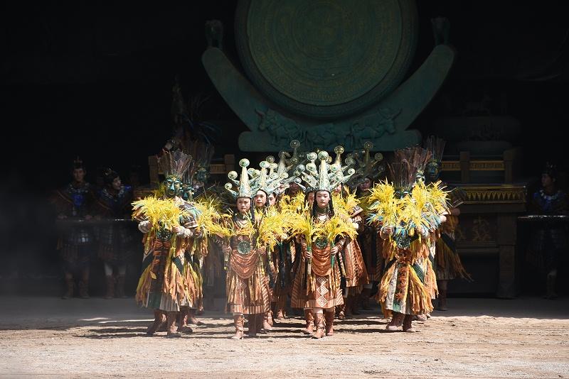 七彩云南·古滇名城古滇国历史文化演绎展现