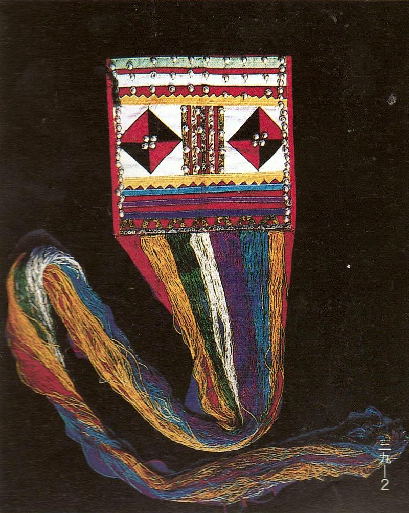 拉祜族包头巾